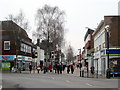 SO9670 : Bromsgrove Start of High Street by Roy Hughes