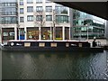 TQ2681 : 'British Waterways London' under the A40, Regent's Canal by R Sones