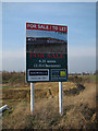 TL4663 : Business park sign by Hugh Venables