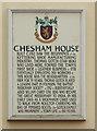 Photo of Thomas Gotch white plaque