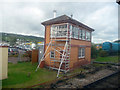 SS9746 : Minehead - Signal Box by Chris Talbot