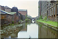SJ8598 : Ashton-under-Lyne Canal, 1990 by Robin Webster