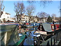 TQ2682 : Regent's Canal on a winter's day, Paddington. London by Ruth Sharville