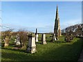 NU2704 : East cemetery, Amble by Oliver Dixon