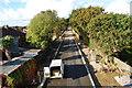 SU5803 : Fareham to Gosport BRT - View from Gregson Avenue Bridge (40) by Barry Shimmon