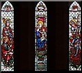 TQ2869 : St Mark, St Mark's Road, Mitcham - Stained glass window by John Salmon