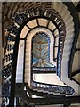 TQ3082 : St. Pancras Renaissance London Hotel, Euston Road, NW1 - grand staircase : Week 7