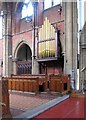 TQ3297 : St Michael &amp; All Angels, Gordon Hill, Enfield - Organ by John Salmon