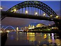 NZ2563 : Tyne Bridge : Week 7