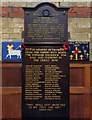 TQ3198 : St John the Baptist, Clay Hill, Enfield - War Memorials by John Salmon