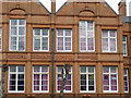 SO9099 : The Municipal Secondary School (detail), Wolverhampton by Roger  Kidd