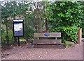 SO8582 : Information board and seat at Whittington Lock, Staffs & Worcs Canal, near Whittington by P L Chadwick