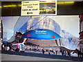 SP0686 : Poster For The New, New Street Station by Roy Hughes