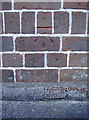 ST6070 : Cutmark on the Church of the Nazarene by Neil Owen