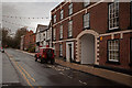 SJ7578 : The top end of King Street, Knutsford by Roger A Smith
