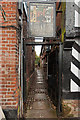 SJ7578 : The entrance to the court yard In which the Penny Farthing Museum can be found by Roger A Smith