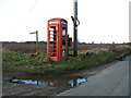 TG3820 : Disused K6 telephone box, Catfield by Evelyn Simak