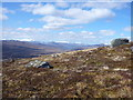 NN4262 : View west to the snow-capped hills of the Black Mount and Glencoe by Alan O'Dowd