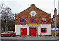 SO9596 : Sikh temple and college in Bilston, Wolverhampton by Roger  Kidd
