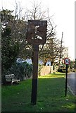 TR2264 : Chislet Village Sign by N Chadwick