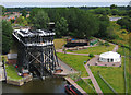 SJ6475 : Anderton Boat Lift Aerial Photo by Edward Robinson