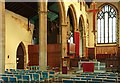 TQ2573 : St Barnabas, Merton Road, Southfields - Organ by John Salmon