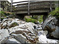 NY1620 : footbridge over stream by Philip Jeffrey