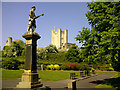 SK5198 : Conisbrough War Memorial by Patrick Baldwin