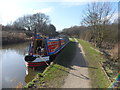 SK2404 : Working Narrow Boat Hadar moored at Amington Golf Course by Keith Lodge
