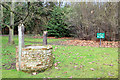 TL3501 : Old Well, Cedars Park, Cheshunt, Hertfordshire by Christine Matthews