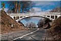 TQ2652 : Reigate Hill Footbridge by Ian Capper