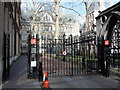 TQ3081 : Gates at entrance to Clement's Inn Fleet Street London by PAUL FARMER