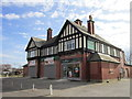 SK6198 : The Station public house, New Rossington by Ian S