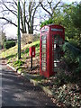TL8739 : Telephone And Post Box by Keith Evans