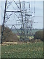 TL8637 : Pylons by Keith Evans