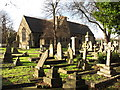 TQ2184 : St. Mary's Church, Neasden Lane, NW10 by Mike Quinn