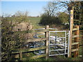 SP2679 : New Kissing Gate, Broad Lane by Nigel Mykura