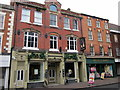SO9570 : Bromsgrove High Street  The Grapevine &amp; Holland &amp; Barrett by Roy Hughes