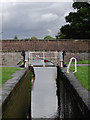 SJ6965 : Stanthorne Lock west of Middlewich, Cheshire by Roger  Kidd