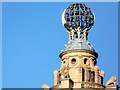 TQ3080 : Ball on top of Coliseum, London SW1 by Christine Matthews