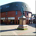SS6592 : Grade II listed statue of Hussey Vivian, Swansea by Jaggery