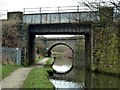 SK3873 : Railway bridges over the Chesterfield Canal by Graham Hogg