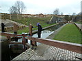 SK4174 : Hollingwood Lock on the Chesterfield Canal by Graham Hogg