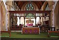 TQ4778 : St Michael & All Angels, Abbey Wood Road, Abbey Wood - Nave altar by John Salmon
