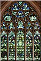 TQ4778 : St Michael &amp; All Angels, Abbey Wood Road, Abbey Wood - Stained glass window by John Salmon