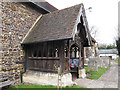 TQ2250 : St Mary the Virgin, Buckland - porch by Stephen Craven
