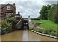 SJ6558 : Minshull Lock near Church Minshull, Cheshire by Roger  Kidd