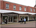 SO9670 : Bromsgrove High Street  Chapman Opticians & Savers by Roy Hughes