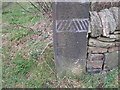 SK3099 : Cut benchmark at the end of Hermit Hill Lane by John Slater