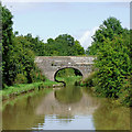 SJ6659 : Hoolgrave Bridge near Church Minshull, Cheshire by Roger  Kidd